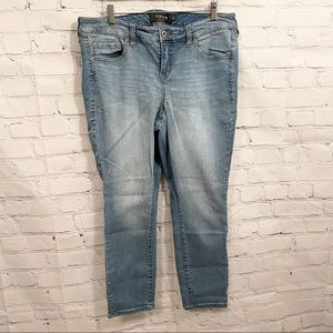 Torrid light wash skinny jeans | 14